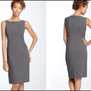 Theory Grey Sheath Dress Size 4
